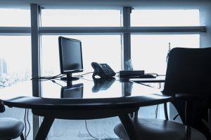 bureau entreprise siège ordinateur